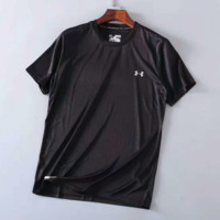 """ Under Armour""Fashion Print Casual Short Sleeve Shirt Top Tee Blouse G-G-JGYF"