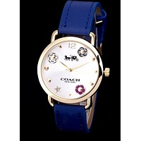 COACH new tide brand men and women models quartz watch
