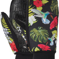 Neff Character Snowboard Mitts - Floral