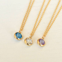 Cz diamond Layered Necklaces,14k Gold Filled,fantastic necklace,gift for her
