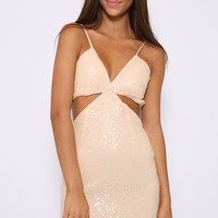 Glamour Doll Dress - Nude