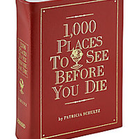 Graphic Image - 1,000 Places to Go Book - Saks Fifth Avenue Mobile