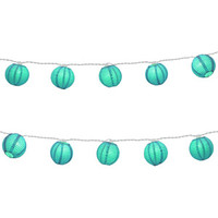 "Walmart: LumaBase Luminarias Electric String Lights with 3"" Paper Lanterns, 10-Count"