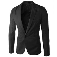 Sky Blue Blazer Men Costume Home New Arrival Men Slim Fit Blazer Jacket Stylish Red Black Pink Suit Men