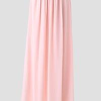 Have You Heard Chiffon Maxi Skirt