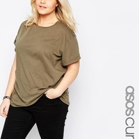 ASOS Curve | ASOS CURVE The Ultimate Easy T-Shirt at ASOS