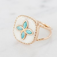 Free People Bowie Turquoise Ring