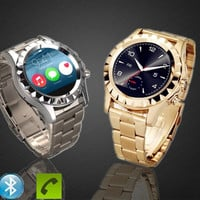 SUN S2 Bluetooth Smart Watch Stainless Steel Intelligent Watch Heart Rate Monitor For Samsung HTC Sony iPhone = 1956447620