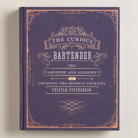 """""""The Curious Bartender"""" Cocktail Recipe Book - World Market"""