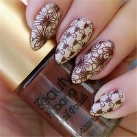 BeautyBigBang 9ml Nail Stamping Polishes Printing Varnish Lacquer for Nail Art Stamping Plate gel nail polish