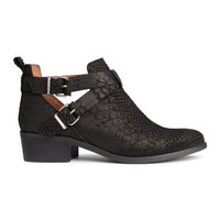 H&M Suede Boots $69.99