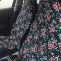 Me-Mo Airbag-Friendly Car Seat Covers: Deep Sea Vintage Rose