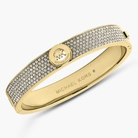 Women's Michael Kors 'Fulton' Hinged Bangle
