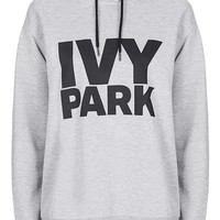 Oversized Logo Hoodie by Ivy Park - Ivy Park - Clothing