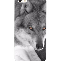 Red Eyed Wolf Phone Case