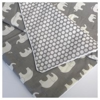 Elephant Lublini   RTS Toddler Quilt