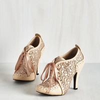 French Luxe Like We Made It Heel in Seashell by ModCloth