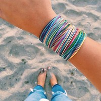 The Original Pura Vida Bracelet-Bright Multi