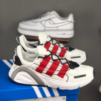 HCXX 19July 206 Adidas Yeezy Boost 600 Lxcon Breathable Sports Casual Running Shoes white red