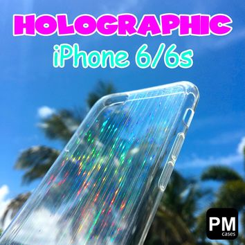 Clear Flexible Holographic Hologram Case For Apple iPhone 6 & 6s