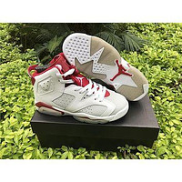 Air jordan retro 6 OG Maroon Infrared red Mens Basketball Shoes retro 6S Womens sports shoes Sneakers eur 36-47