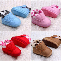 4 Colors Baby Girls Boy Winter Warm Shoes