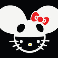 Hello Kitty Dead Mouse Decal / Sticker by CustomizeItOnlinecom
