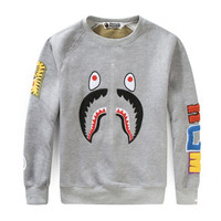 BAPE Sweatshirt Grey