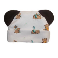 Baby Bear and Toys Hat with Ears!