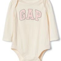 Logo long sleeve bodysuit | Gap