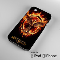 The Hunger Games mockingjay part one iPhone 4S 5S 5C 6 6Plus, iPod 4 5, LG G2 G3, Sony Z2 Case