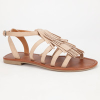 City Classified Tuscan Womens Sandals Oatmeal  In Sizes