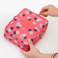 Make up organizer bag 22cm x18cm x8cm Women Men Casual travel multi functional Cosmetic Bag storage waterproof bag