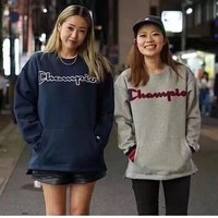 'Champion''  Fashion Long Sleeve Pullover Sweatshirt Top Sweater