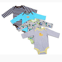 3\4\5PCS carter  BABY BODYSUITS 100%Cotton Infant Body Bebes Long Sleeve Clothing Jumpsuit Printed Baby Boy Girl Bodysuits
