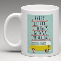 Bob Marley 3 Little Bird Every little things gonna be alright Coffee Mug Tea Cup