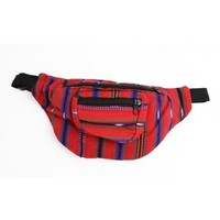 Small Fanny Pack | Red Fanny Pack | Coachella Fanny Pack