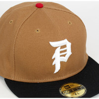 New era x primitive Cap dirtypiefited black Workwear Tan Hat NEWERA×PRIMITIVE 59FIFTY DIRTY P FITTED WORKWEARTAN large cap new era cap size mens ladies and [KH] #CP: W