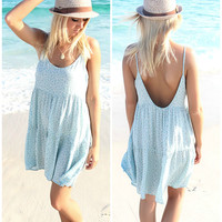 Sandestin Summer Sage Tier Sundress