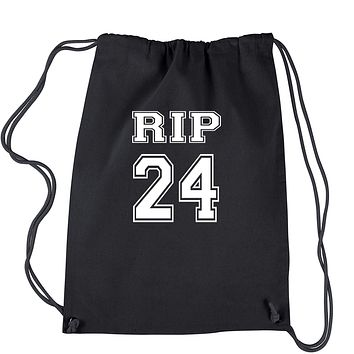 RIP Rest In Peace 24 Drawstring Backpack