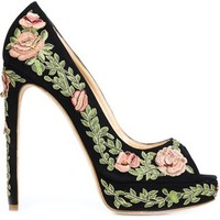 Marchesa 'rose' Pumps - Marchesa Accessories - Farfetch.com