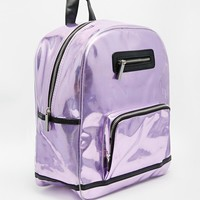 Skinnydip Holographic Backpack at asos.com