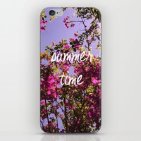 Summer Time iPhone & iPod Skin by Louise Machado