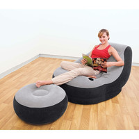 Inflatable Indoor/Outdoor Ultra Lounge With Ottoman