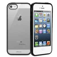 i-Blason SphereView Series Slim Fit Two Piece Semi-Transparent TPU Flexible Inner Cover Case with Hard Bumper Shell for Apple New iPhone 5 AT&T, Sprint, Verizon 4G LTE Retail Packaging (Frost White)   AihaZone Store