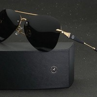 2018 New Luxury Brand Sunglasses Polarized Men Driving Glasses Mercedes-Benz