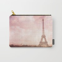 Paris in Pink Carry-All Pouch by Legends of Darkness Photography