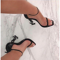 Yves Saint Laurent YSL new women's fashion ultra-high heel stiletto with a high heel shoes