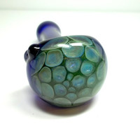 Glass Pipe, Beautiful Honey Comb Heady Pipe, Hand Blown Glass, READY to SHIP, Cgge Team
