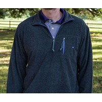 FieldTec Dune Pullover in Midnight Grey with Iris by Southern Marsh